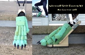Werewolf Stilt Foaming V3 by Wereren
