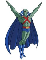 How To Draw DC Heroes - Martian Manhunter by TimLevins