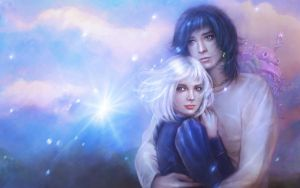 Howl and Sophie by PerlaMarina