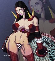 Lady Savant II by hulkdaddyg
