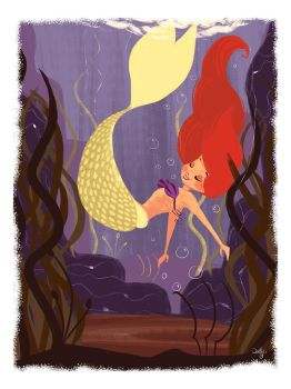The little mermaid by Orelly
