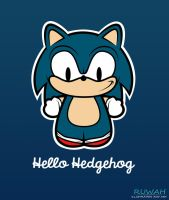 Hello Hedgehog [Sonic] by Ruwah