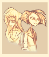 Dar and Jane by DollCreep