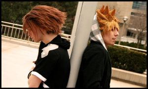 .:Sora:Roxas - Brothers by kh2kid
