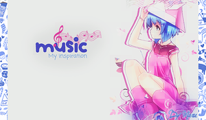 Music: my inspiration by DonaGreyback