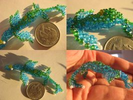 Bead Sea Creature by kameeko
