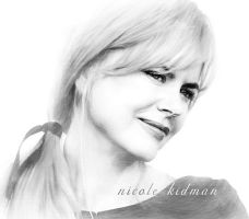 NICOLE KIDMAN SKETCH by crusider