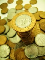 real coins by dleafystock
