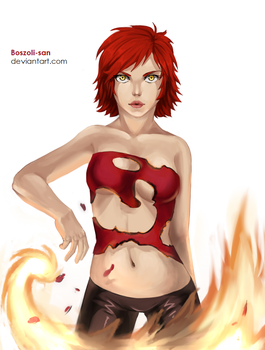 Four Elements project - Fire by Boszoli-san