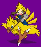 Chocobo Ride 2 by fanchielover15