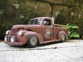 41 chevy rat rod model by RedlineGearhead