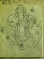 Fast Sketch - Seasons by Obscuratio