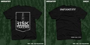 Risk Takers Tee by motion-attack