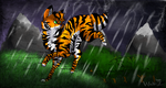 Tiwo In The Rain by Ninjawoof