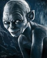 Gollum by eryxfrt