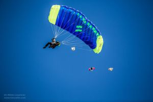 Spain from the Air - 4 - Skydivers by hmcindie