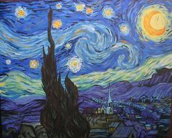 Starry Night Copy by ivan