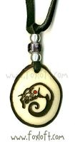 Binturong Totem Tagua Pendant by Foxfeather248