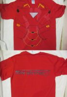 Custom Made Iron Man Shirt by ElectricLimeRose