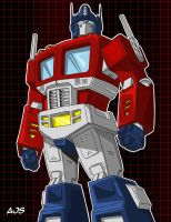 Optimus Prime 02 by AJSabino