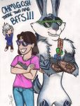 Best Friends!  XD by CatWoman-cali-onyx