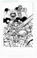BATTLE CHASERS INKS by FanBoy67
