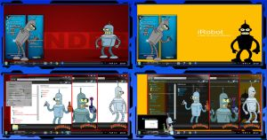 Thema windows7 Bender by bir2d