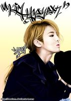 Hyoyeon Digital Painting 4 by BoAism