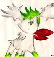 Shaymin Sky Form by Death-must-Die