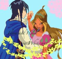 Flora and Helia as Snow White and her Prince by WinxGirl34