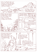 Foreign shadows  page 1 draft by ChillySunDance