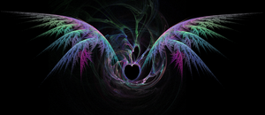 Winged Heart by PorkyMeansBusiness