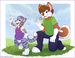 Bubble popping by High-Yote