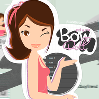 Bow doll PSD-PNG~ by Peerfectboyfriend