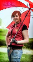 Claire Redfield : Umbrella by ChaoticClaire