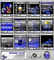 Toonie Glass Theme for SE K750 by Smooth-Sade