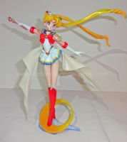 Super Sailor Moon 1/8 Kaiyodo Figure by onsenmochi
