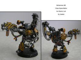 Iron Warrior Lord by chaotea