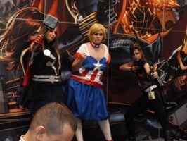 Steampunk Avengers by nx20