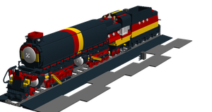 Lego Trains: Big Boy 1 by Shadow20X6