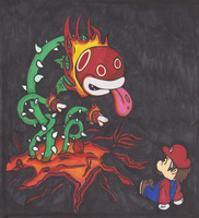 Colab: Enter the Fire Piranha Plant (For DJ) by FireheartTheInferno