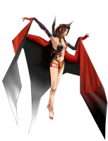 Aeris in Cloud of Darkness' costume by Ultimaespio