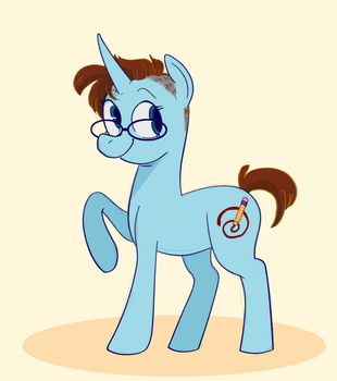 Pony OC (Redesign) by Toodles3702