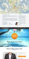 HappyHour - One Page Shopping / Product Template by prestigedesign