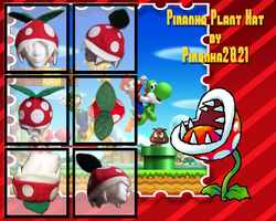 Baddie Hat - Piranha Plant by Piranhartist