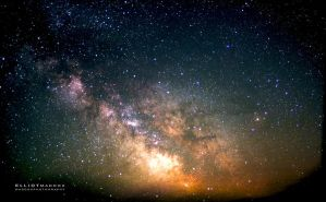 Milky Way Stack by PhotoshopAddict89