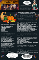 The Arad Post Thanksgiving edition by TooneGeminiElf
