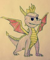Spyro color by YugiFanatic69