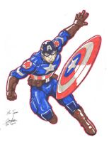 Captain America by Onore-Otaku