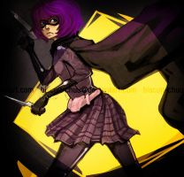 hit girl because she's boss by biscuit-chuu